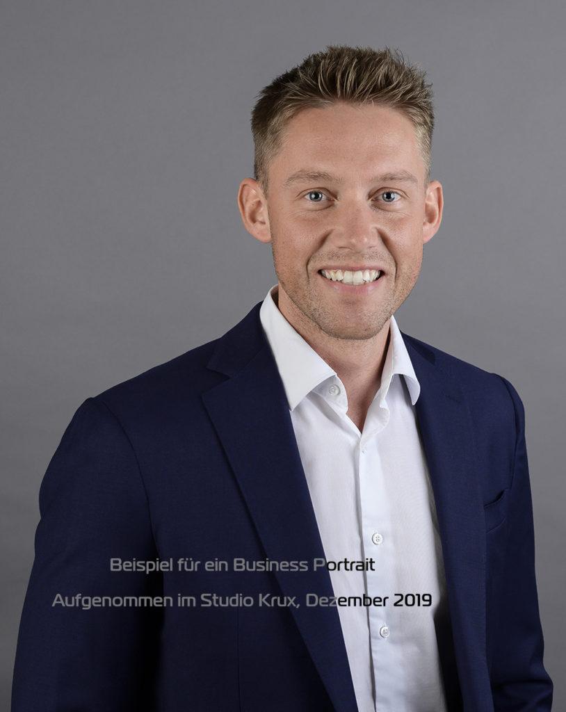 Business Portrait Bewerbung Photostudio Krux